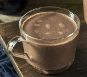 dairy-free hot chocolate
