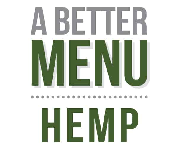 better hemp menu