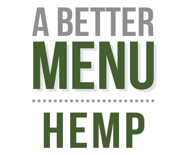 better nutrition hemp menu