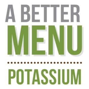 better nutrition potassium menu