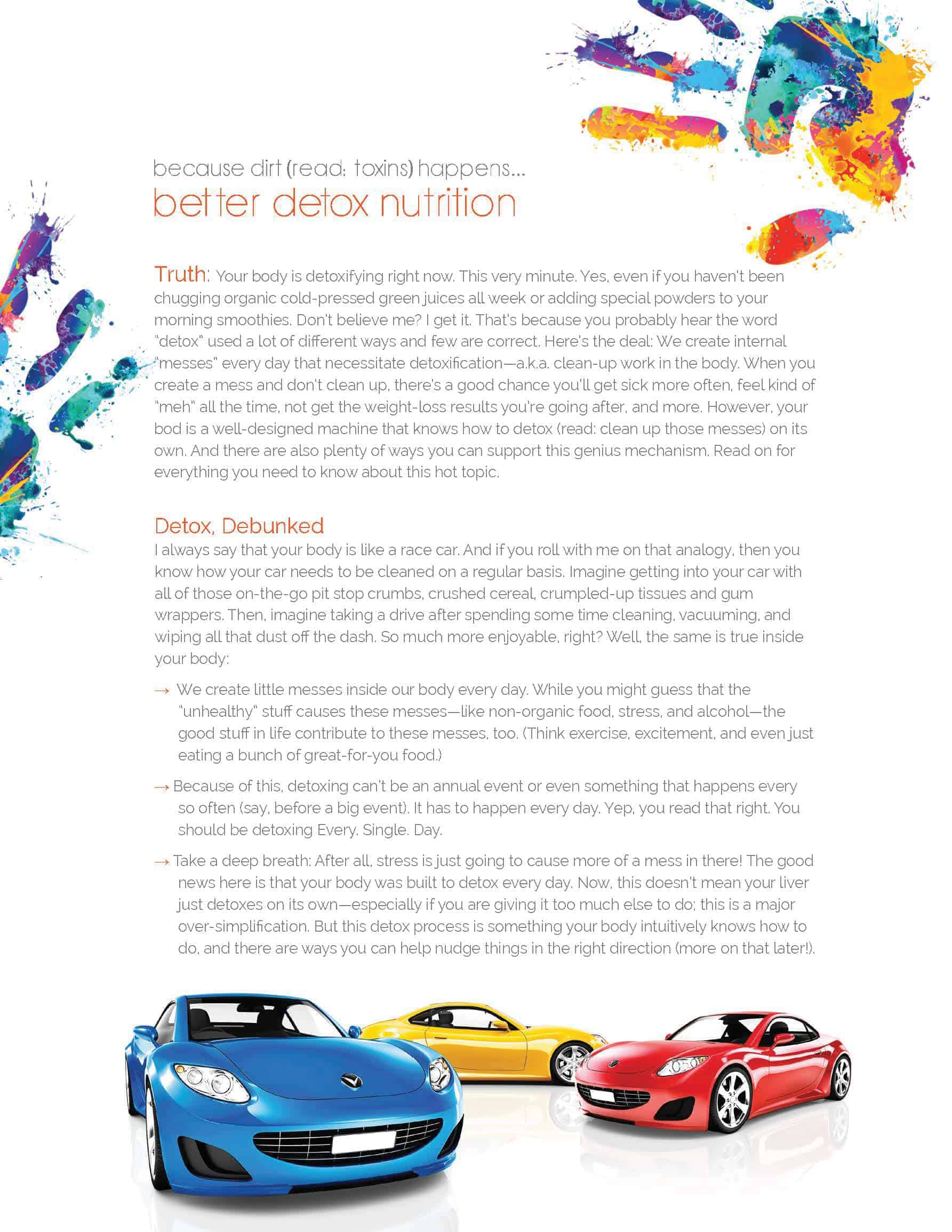 detox foods plan