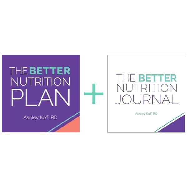 better nutrition plan journal