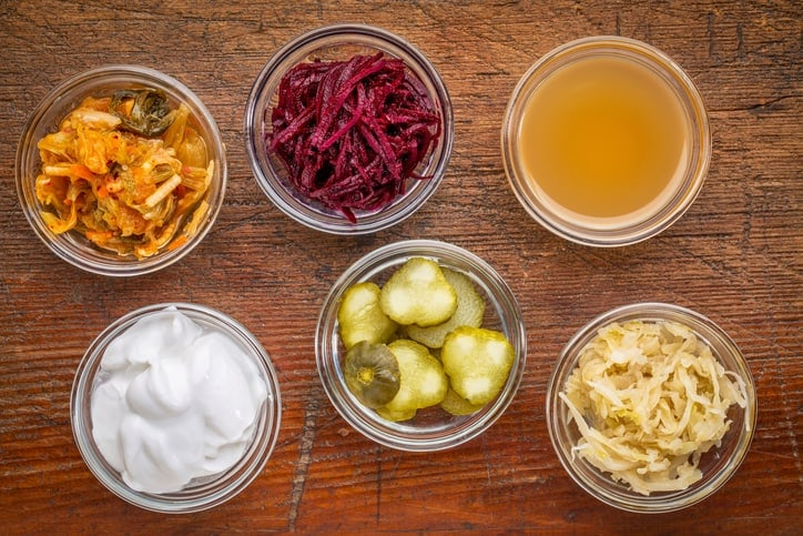 apple cider vinegar fermented veggies