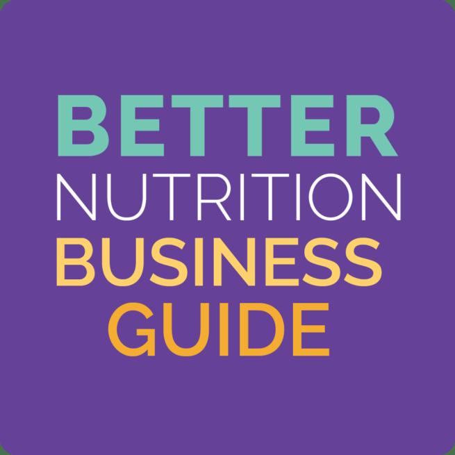 better nutrition business quickstart guide