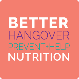 better hangover nutrition