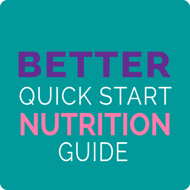 quick start better nutrition