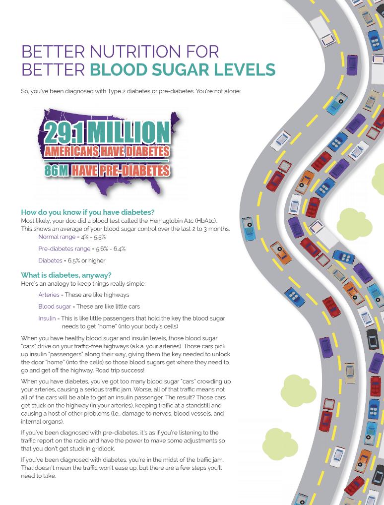 blood sugar nutrition