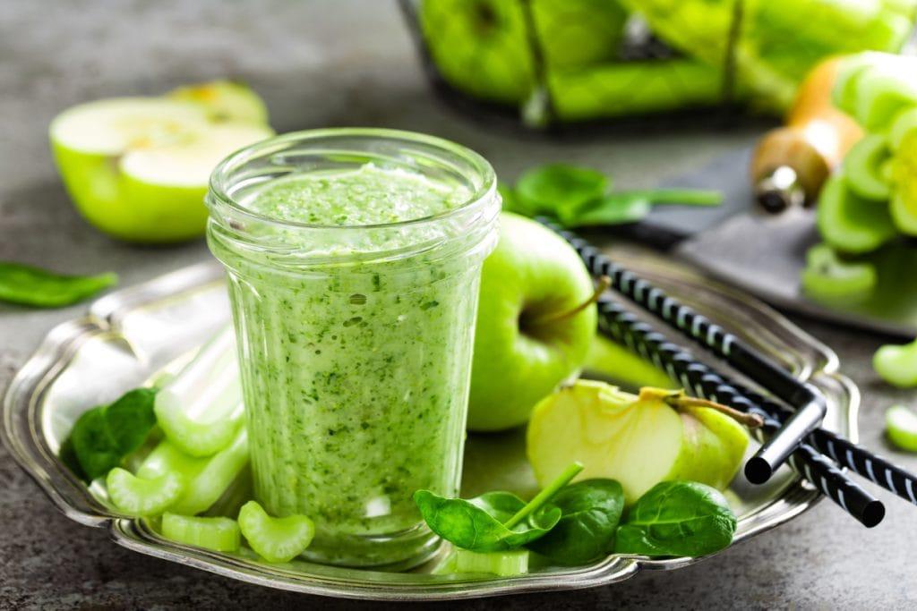 low sugar celery juice apple