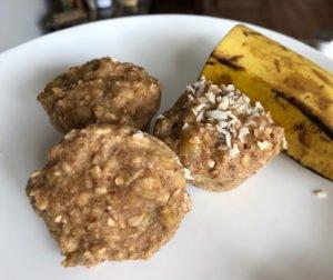 Better Banana Oat Muffins