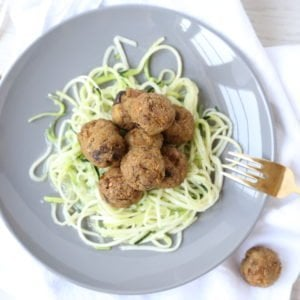 Better Meatless Meatballs