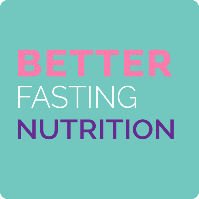 better fasting nutrition guide cover