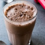 chocolate rose collagen smoothie