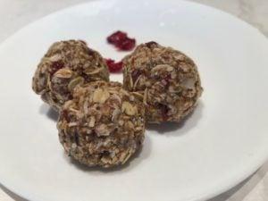 sarahs power protein balls