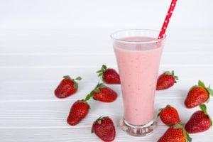 wild berry collagen smoothie