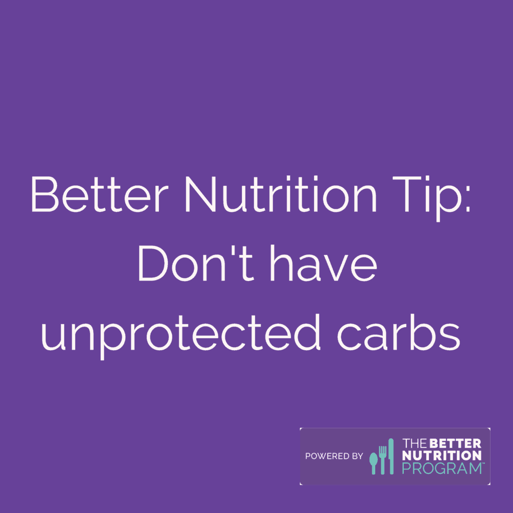 better nutrition carbs tip