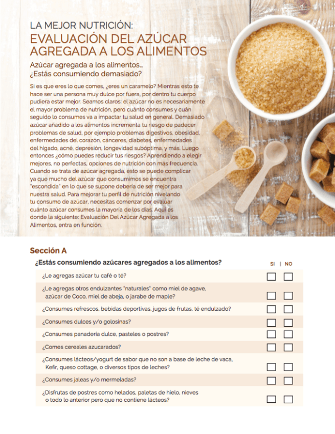 Added Sugar Evaluation in Spanish