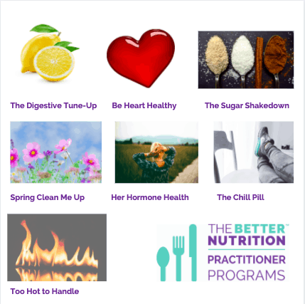 Better Nutrition Practitioner Programs