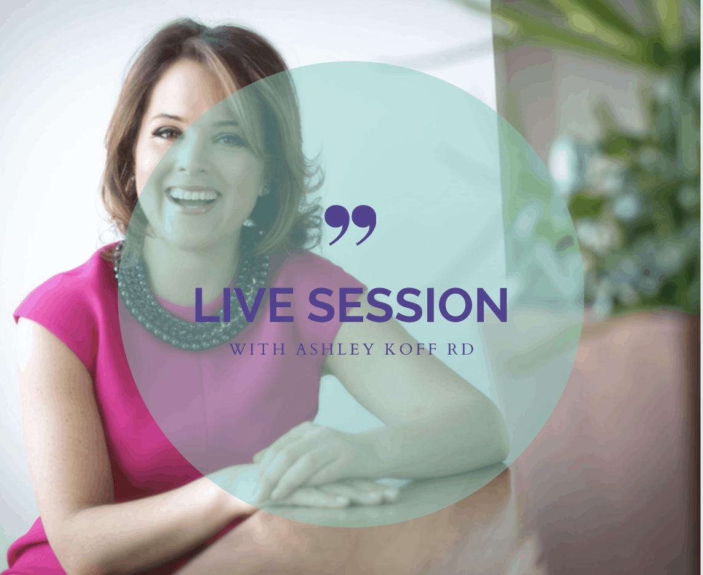 Ask Ashley live session sign up