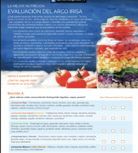 Spanish Rainbow evaluation