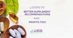 3 stpes to better supplement recommendations