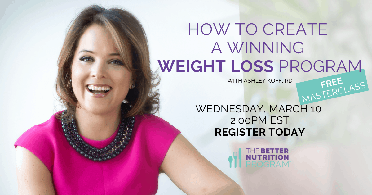 How to Create A Winning Weight Loss Program