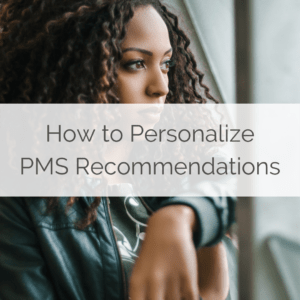 personalizing PMS recommendations